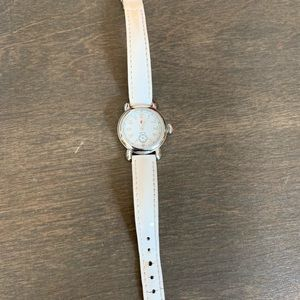 Vintage Swiss MICHELE watch with leather band